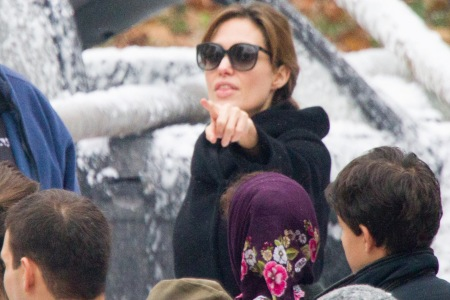 Angelina Jolie directs in Bosnia
