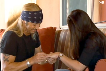 Bret Michaels proposal