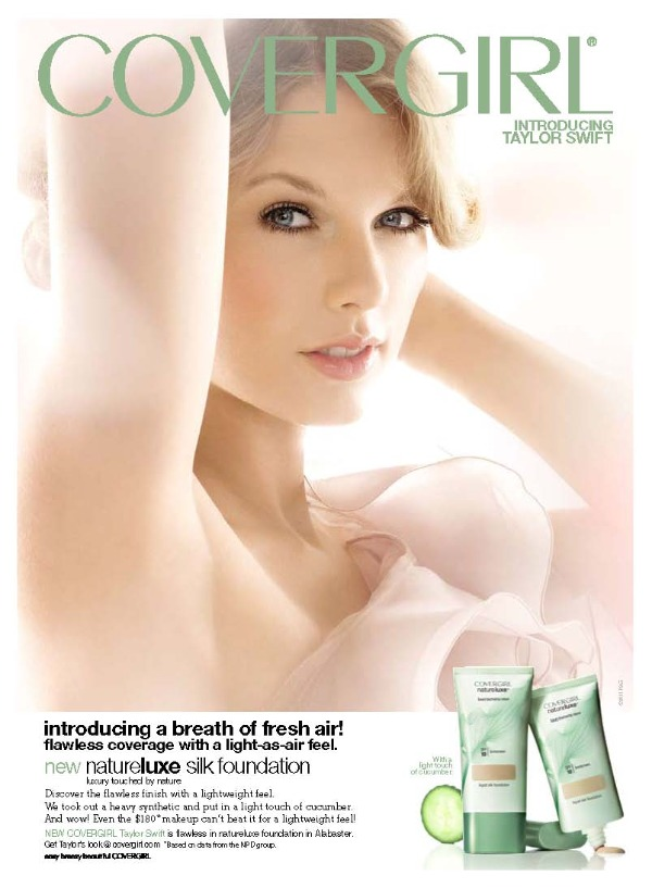 Taylor Swift for CoverGirl NatureLuxe
