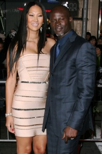 Djimon Hounsou and Kimona Lee Simmons
