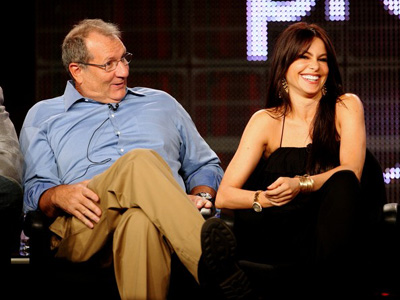 Ed O'Neill and Sofia Vergara