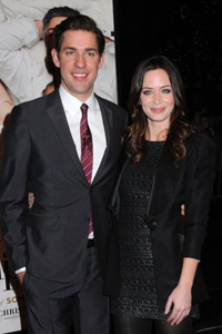 Emily Blunt and John Krasinski