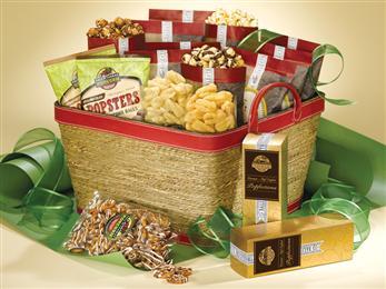 Festive Holiday Basket