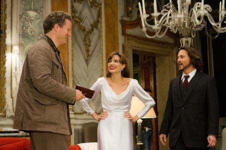Florian directs Angelina Jolie and Johnny Depp