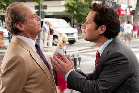 Jack Nicholson and Paul Rudd in How Do You Know