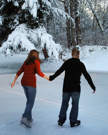 Cold weather fun for couples