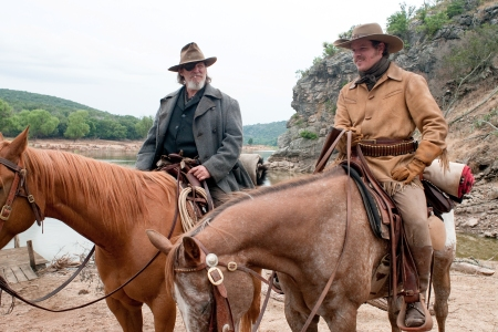 Jeff Bridges and Matt Damon in True Grit