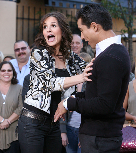 Kara DioGuardi Mario Lopez