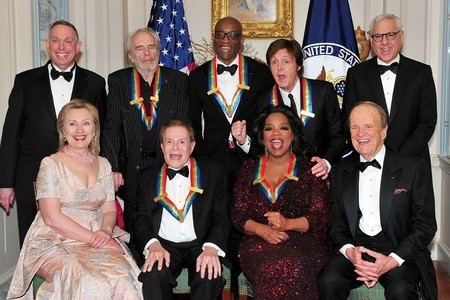 Oprah gets honored at The Kennedy Center