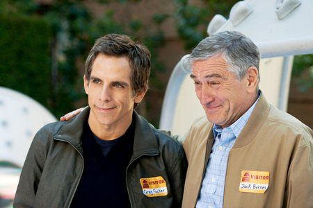 Lilttle Fockers Robert De Niro and Ben Stiller
