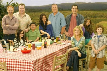 The cast of Modern Family