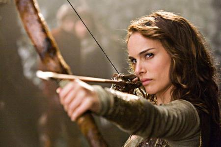 Natalie Portman in Your Highness. The film stars Danny McBride as Prince