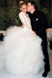 Nicole Richie's wedding dress