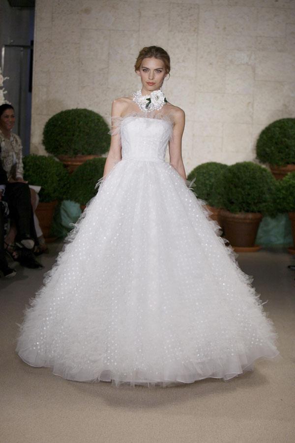 Oscar de la Renta Spring 2011 Bridal Collection