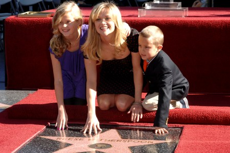 Reese Witherspoon and her family