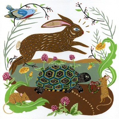 The Hare and the Tortoise by Caitlin Keegan