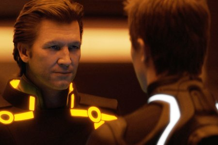 Tron: Legacy features a young Jeff Bridges