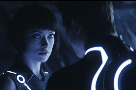 Tron: Legacy star Olivia Wilde meets her man