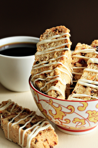 ... in your favorite nuts and dried fruits. Cherry-Almond Biscotti