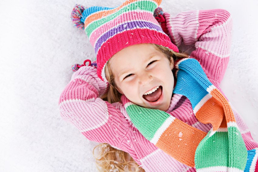 Bundle up and enjoy the snowy outdoors!