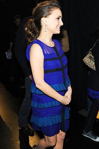 Natalie Portman's happy surprise