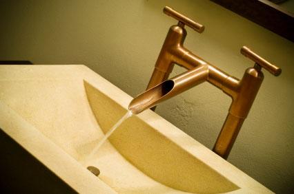 Coppper Bathroom Fixture