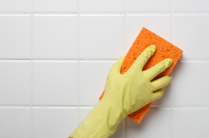Spend extra time cleaning your bathrooms