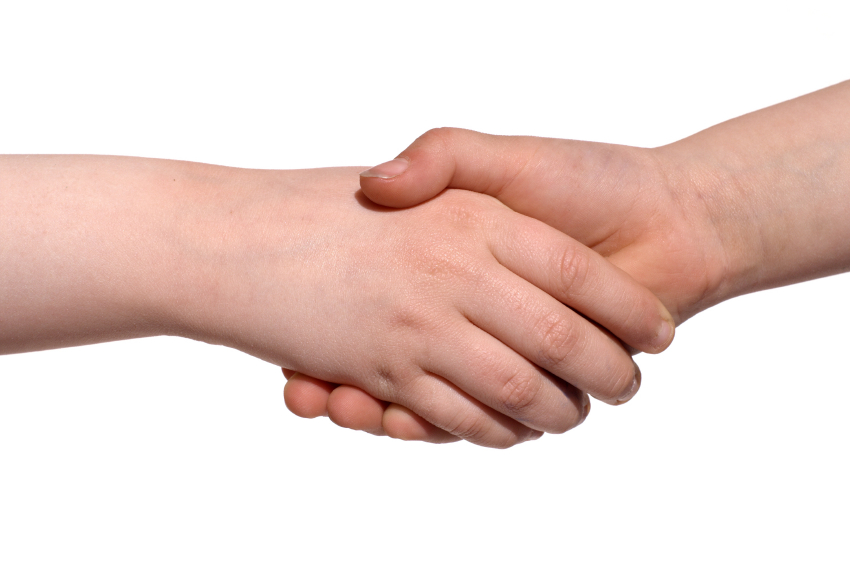 Share this Connecting Hands
