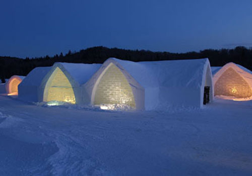 Quebec's ice hotel