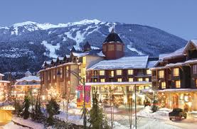 Whistler in wintertime