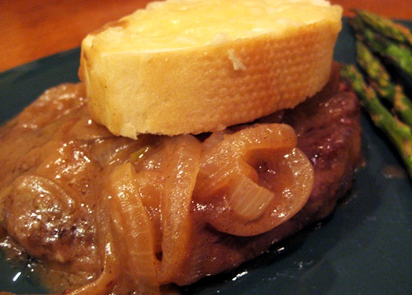 French onion...steak?
