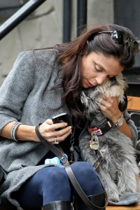 Bethenny Frankel and her pooch