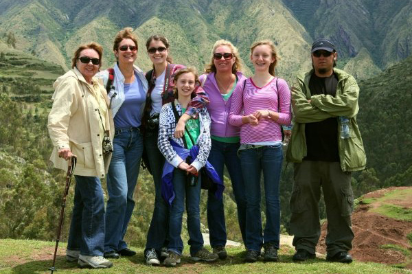 Family adventure in peru
