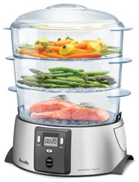 A food steamer