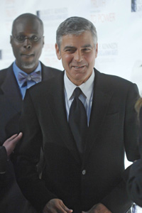 George Clooney recovering