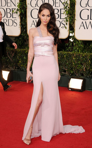 Golden Globes Megan Fox 2011. Megan Fox Golden Globes