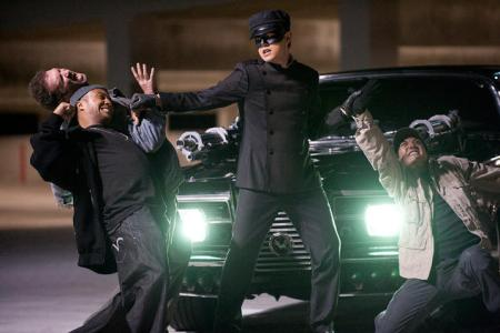 Green Hornet arrives January 14