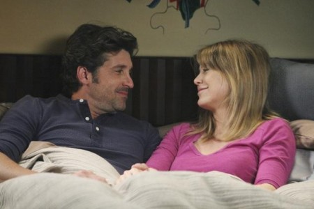 Grey's Anatomy stars Patrick Dempsey and Ellen Pompeo
