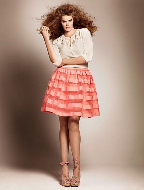 Pretty plus-size dresses from H&M