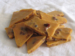 Homemade Bourbon Bacon Brittle