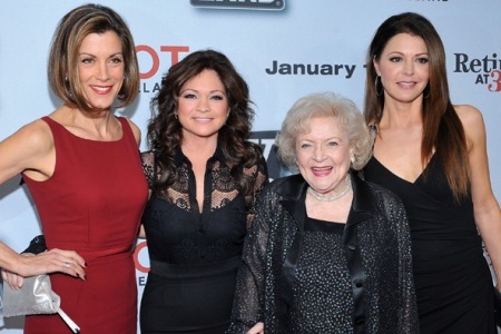 Wendy Malick, Valerie Bertinelli, Betty White and Jane Leeves