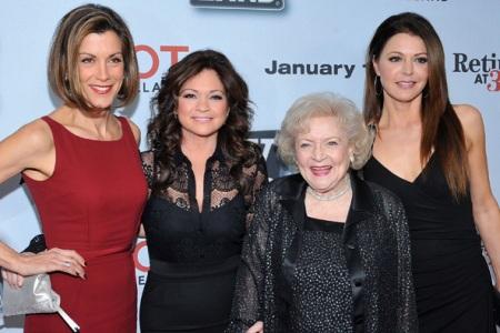 Wendy Malick, Valerie Bertinelli, Betty White and Jane Leeves