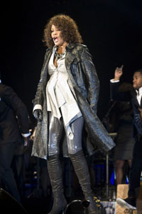 Is Whitney Houston pregnant?