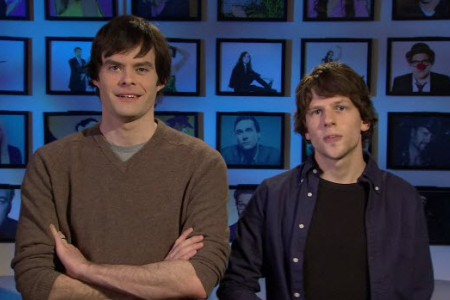 Jesse Eisenberg is hosting Saturday Night Live