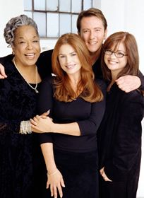 John Dye and cast of Touch by an Angel