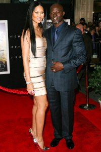 Kimora and Djimon Hounsou
