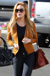 Lindsay Lohan living next chapter