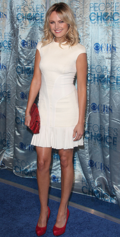 Malin Akerman at People's Choice Awards