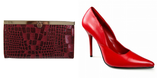Red-clutch-red-leather-heels