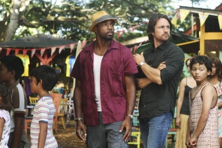 Jason George and Martin Henderson in Off the Map